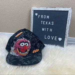 NWT The Muppets Animal Fitted Hat